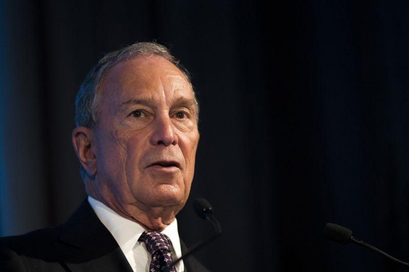 Владелец информационного агентства Bloomberg и экс-мэр Нью-Йорка Майкл Блумберг.
