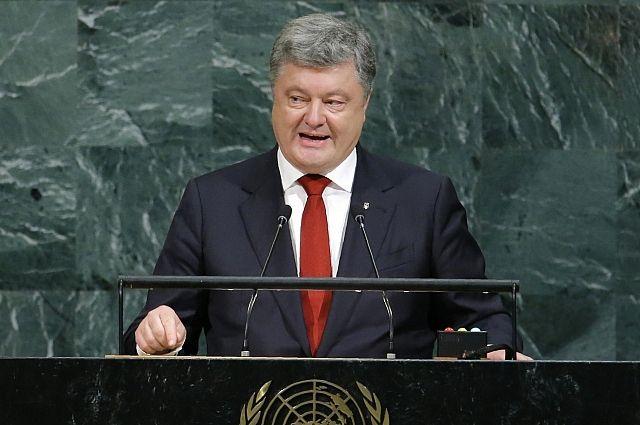Порошенко призвал ООН как можно скорее ввести миротворцев в Донбасс