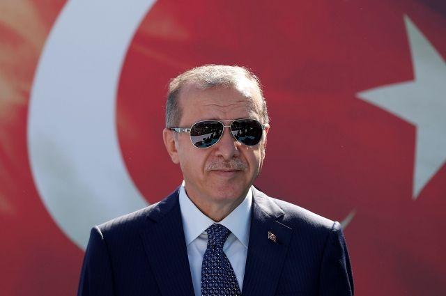 Тайип Эрдоган.