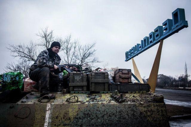 Украина потребовала от ОРДЛО вернуть Дебальцево