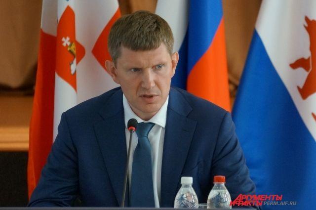 Максим Решетников рассказал об основных задачах, котрые будет решать в ближайшее время