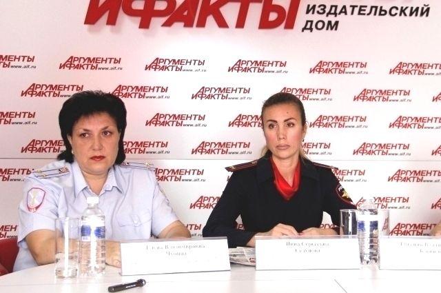 Елена Чупина и Нина Седунова.