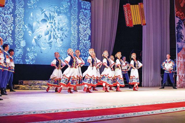 На фестивале русской песни в Уфе