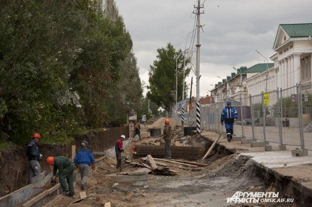 Реконструкция улицы Ленина может завершиться только в 2018 году.