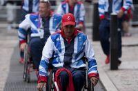 Британские паралимпийцы.