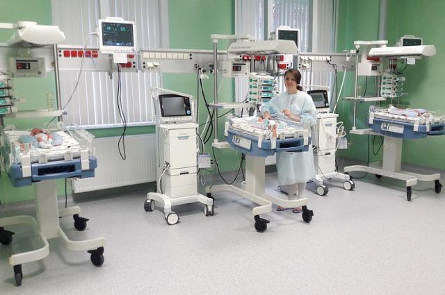 В барнаульском перинатальном центре родилась тройня
