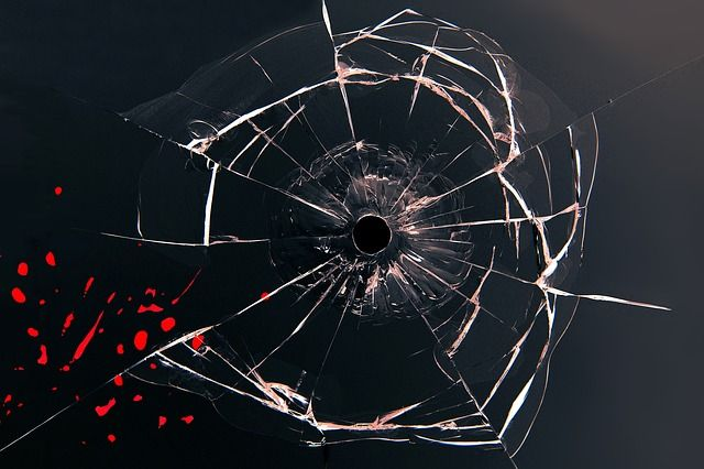 ВБийске недовольный пассажир разбил камнем стекло автобуса