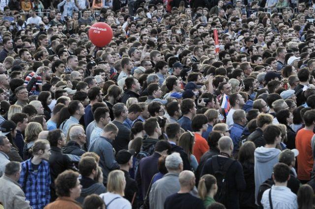 Митинг оппозиционера Алексея Навального прошел в Екатеринбурге 16 сентября.