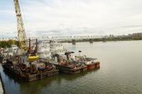 Угроза нефтепродуктов - в местах, где много судов.