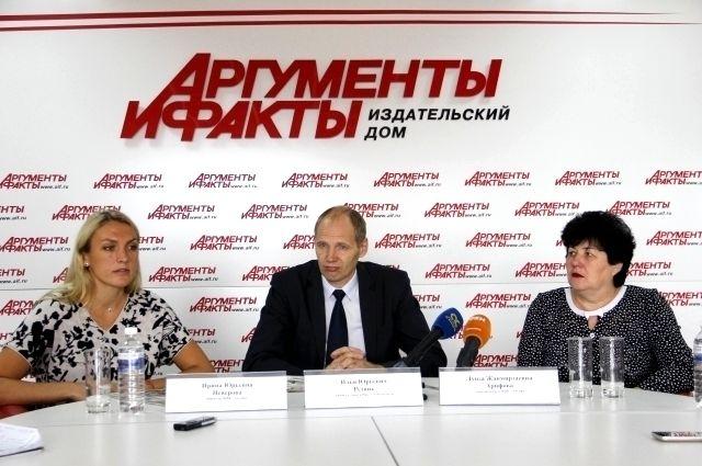 Ирина Неверова, Илья Резник и Луиза Арифова.