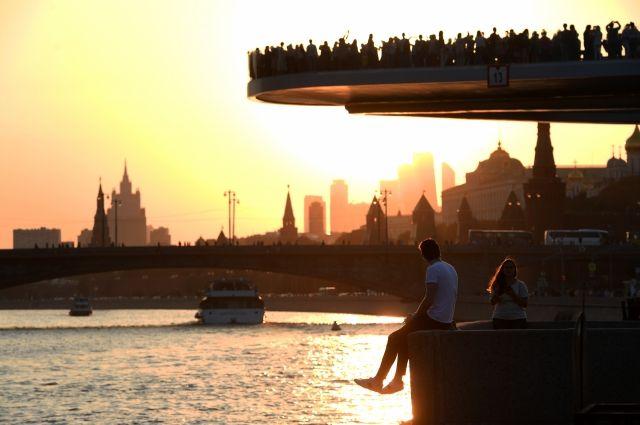 Москвичей ожидает хорошая погода в выходные дни
