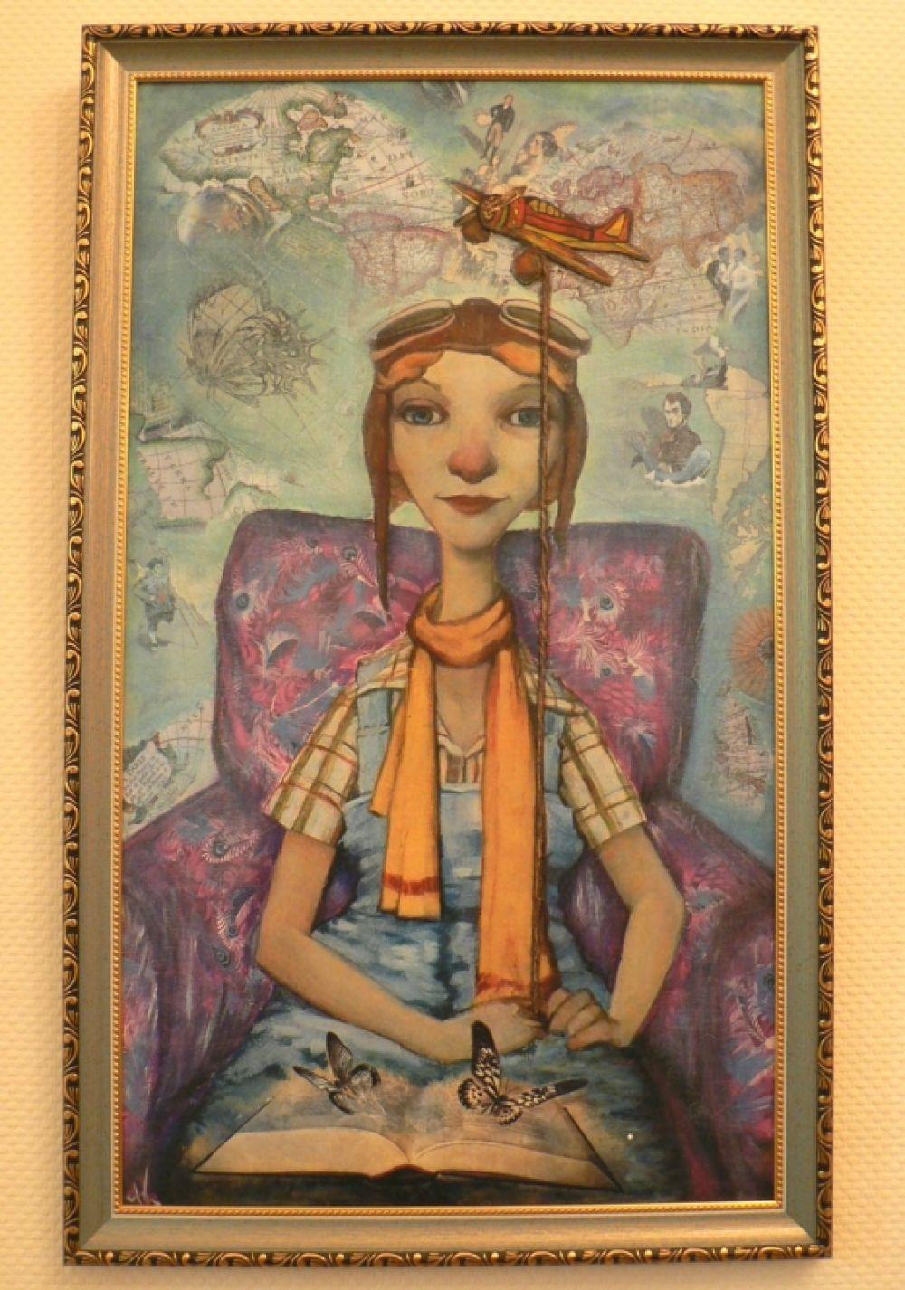 Юность Надежды КИРШ прошла под знаменем свободы, полёта фантазии и сочных красок.