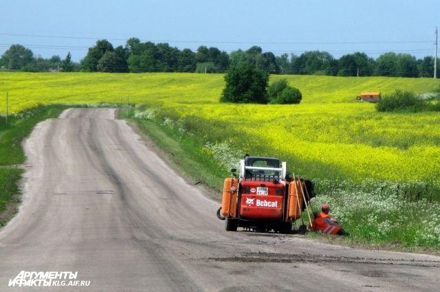 Половина дорог в Калининградской области не соответствует нормативам.