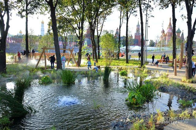 Уникальный парк. Стоимость строительства «Зарядья» составила 14 млрд рублей