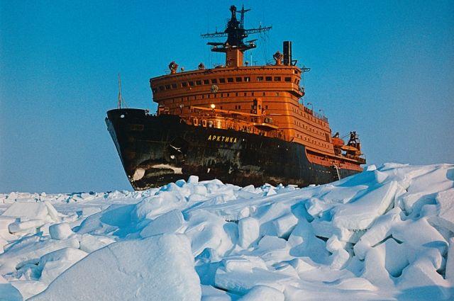 Тестирования атомохода «Арктика» начнутся в 2018г.