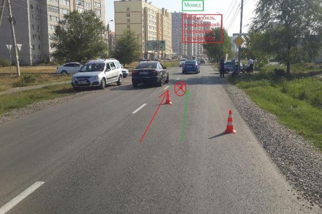 ВНевинномысске неизвестный шофёр бросил раненого скутериста после ДТП