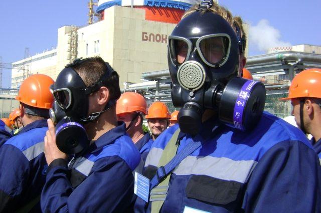 В ходе учений были задействованы одна тысяча специалистов и более ста единиц спецтехники.