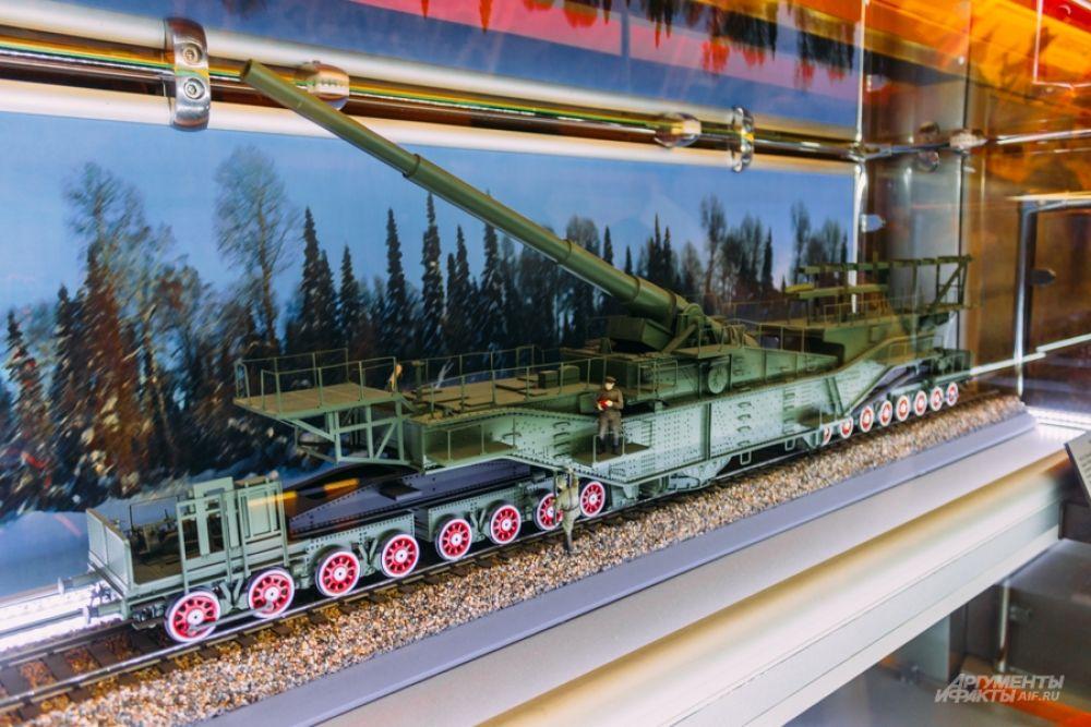 Железнодорожная артиллерия.