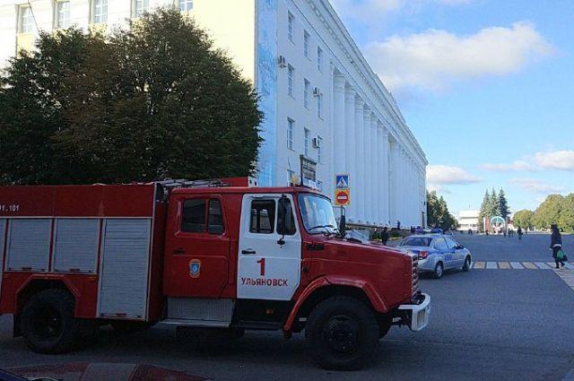 Говорили о минировании зданий органов власти вУльяновске