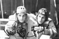 Братья Сергей и Николай Макаровы стали легендой челябинского хоккея.