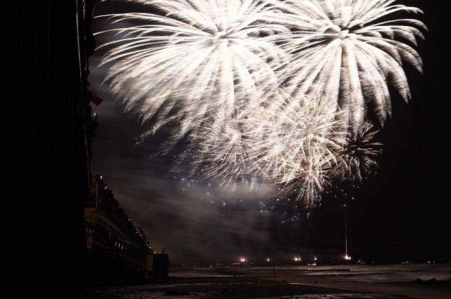 В Зеленоградске состоится заключительный этап фестиваля фейерверков.