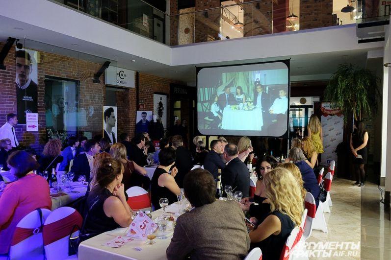 Во втором этапе гости мероприятия увидели видео-визитки всех участниц.