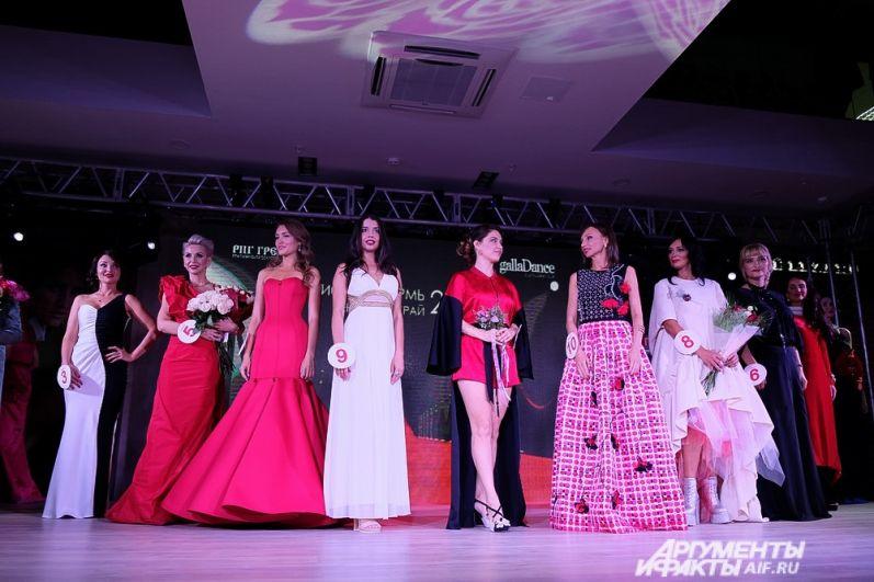 В завершение конкурса прошёл гала-показ всех участниц.
