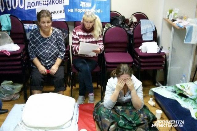 Женщины прекратили голодовку на 11 сутки.