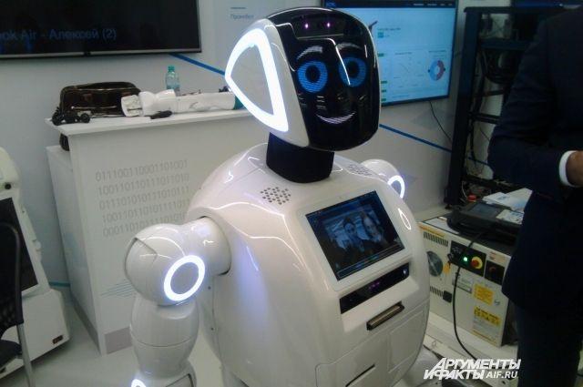 Знакомый сПутиным робот изПерми будет телезвездой