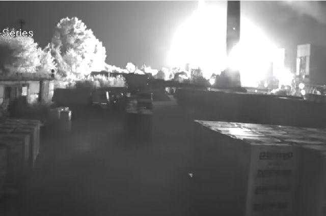 Под Рязанью произошел взрыв наГРЭС