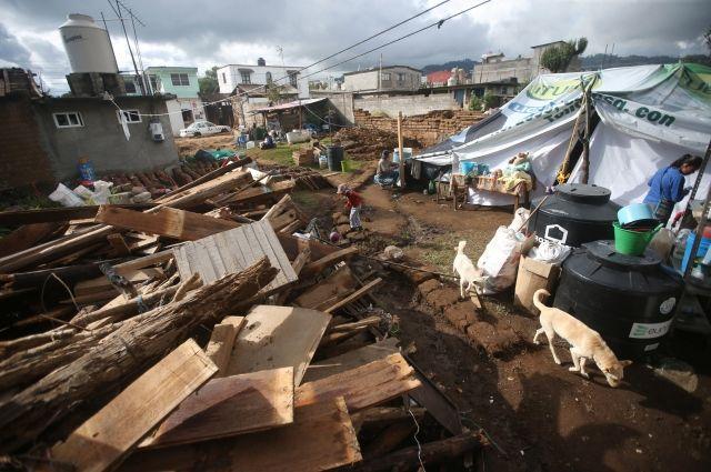 Количество жертв землетрясения в Мексике выросло до 307