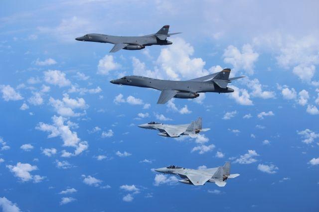 В КНДР опубликовали видеозапись «уничтожения» самолетов США