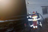 В Киеве на складах случился масштабный пожар