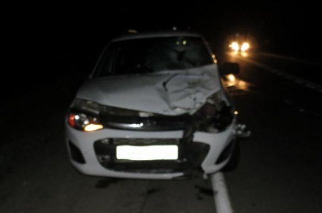 Водитель пытался уйти от столкновения.