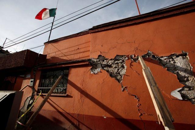 В Мексике произошло новое землетрясение