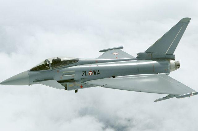 Истребитель ВВС Италии разбился во время авиашоу