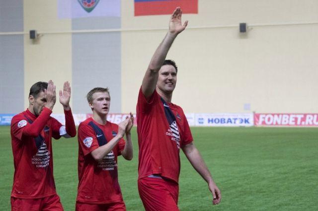 Сибиряки выиграли со счётом 1:0.