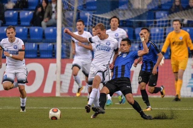 ФК «Оренбург» победил «Шинник» с минимальным преимуществом.