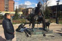Памятник восстановили в рамках муниципально-частного партнертсва.
