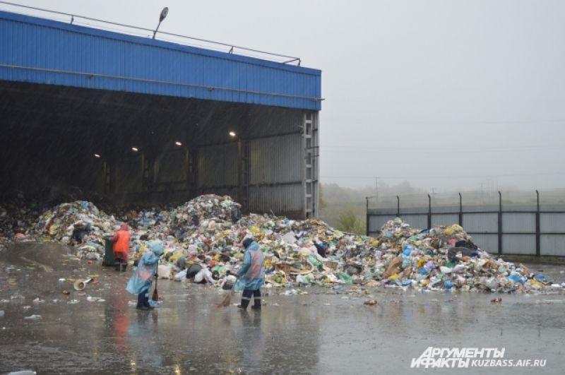 На полигон поступает 150 тысяч тонн отходов в год – это 100% мусора всего Новокузнецка.