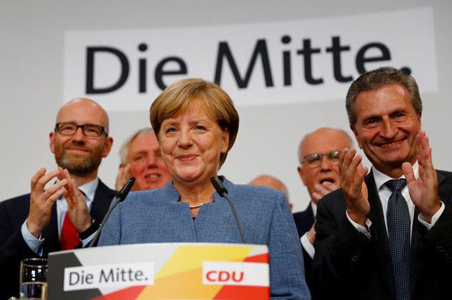 Кто победил на парламентских выборах в Германии?