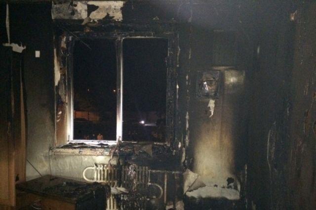ВСлободском впожаре умер 9-летний ребенок
