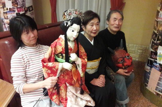 В Омске японских артистов очень тепло приняли.