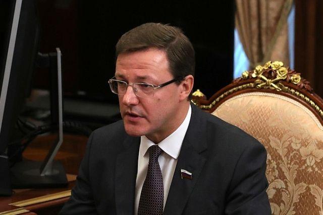 Путин назначил Дмитрия Азарова врио губернатора Самарской области
