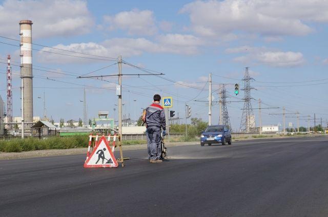 В районе Надыма закончили ремонт дорог
