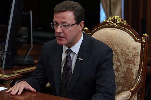 Врио губернатора Самарской области Дмитрий Азаров. Досье