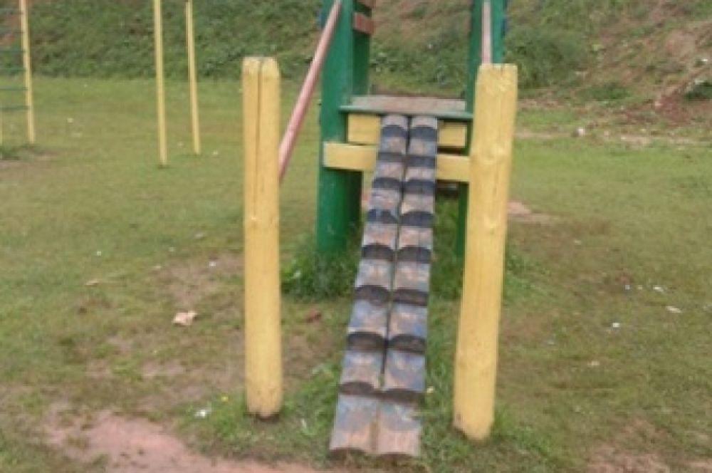 Детская площадка в Бежецке