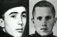 Курские террористы - рядовой Виктор Коршунов и ефрейтор Юрий Суровцев