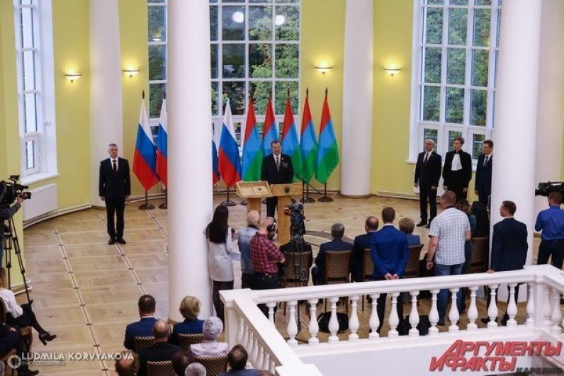 Слова поздравления от экс-главы Карелии и экс-сенатора Сергея Катанандова
