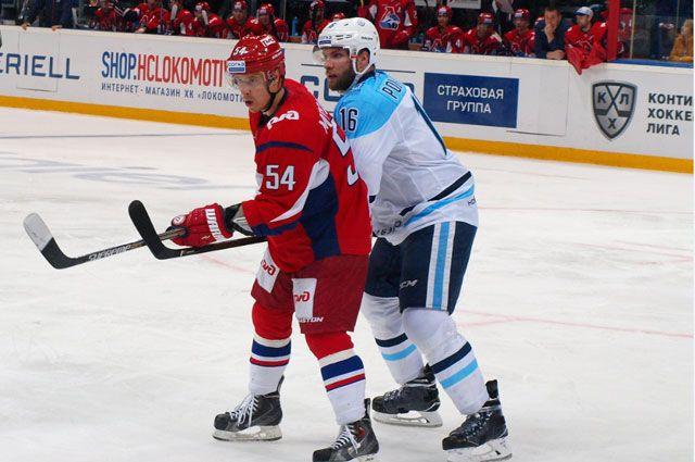 Хоккейная «Сибирь» внапряжённом матче одолела ярославский «Локомотив»